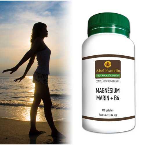 Magnésium Marin et Vitamine B6 - Se soigner au naturel..