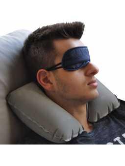 Kit Coussin Nuque, Chaussons de voyage et Masque de sommeil