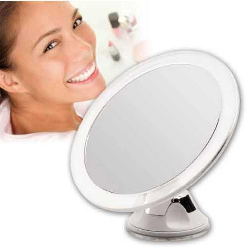 Miroir grossissant à ventouse x 5