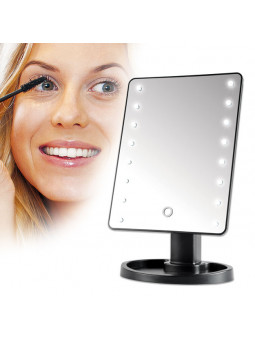 Miroir tactile à leds