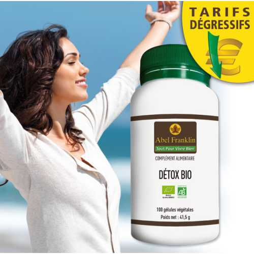Detox Bio 100 gélules Végétales