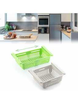 Tiroirs de réfrigérateur réglables par 2